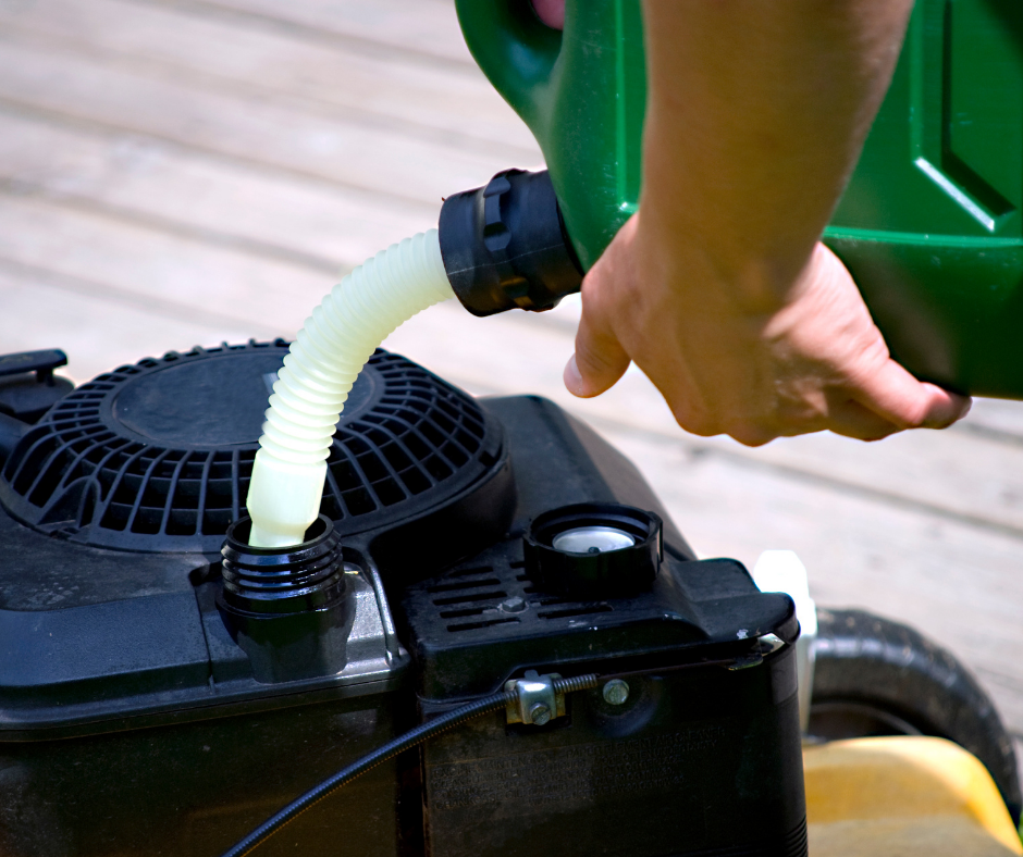 Refueling a Home Generator