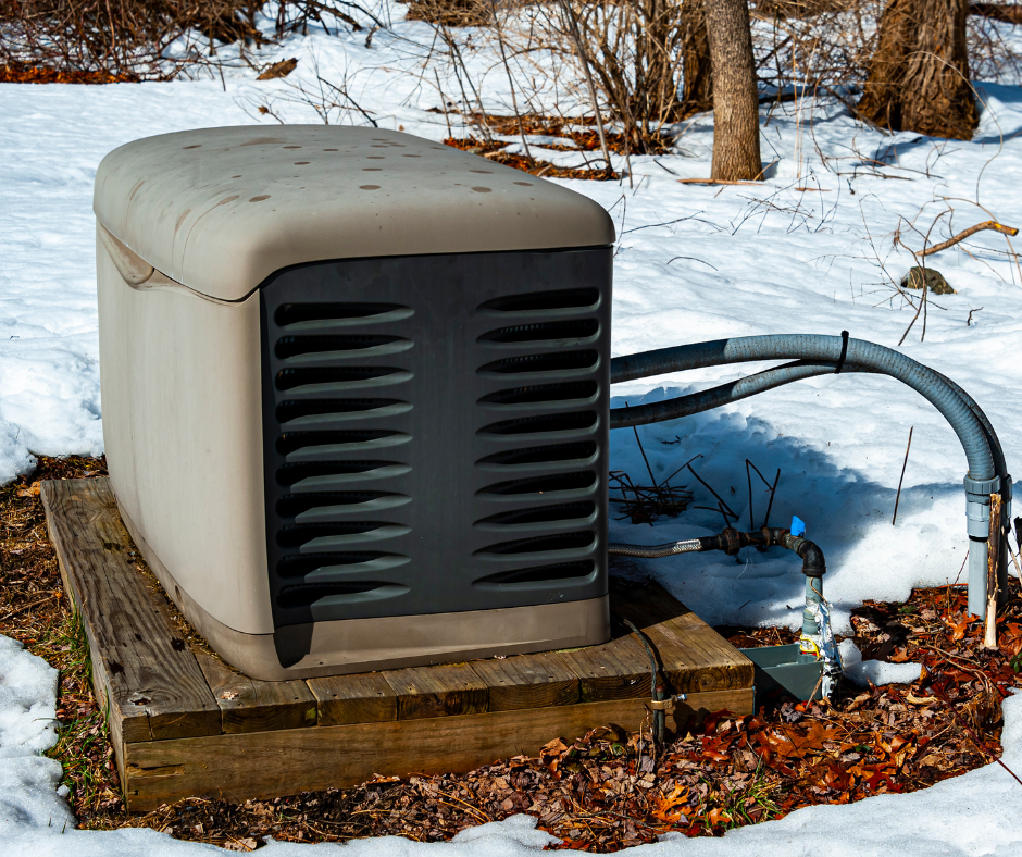 Using a Home Generator outside
